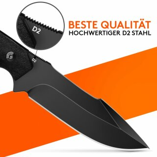 Outdoor-Messer mit Feuer-Starter