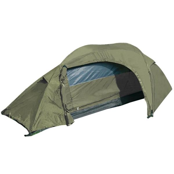 Einmann-Zelt mit Apside - Oliv