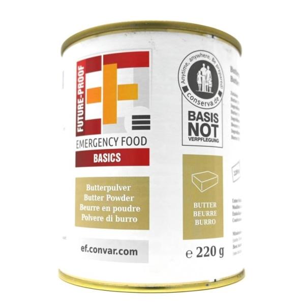 Butterpulver Emergency Food - sehr lange haltbar