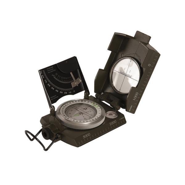 Falt-Kompass - Metall-Gehäuse